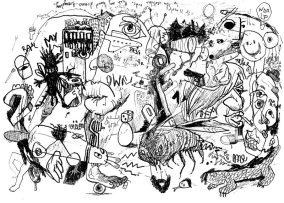 """City Wall"" Graffidraw serie extract"