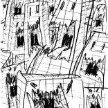 """NYC"" (pencil on paper, 29,7x21cm), 250 euros"