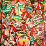 """A like Autism"" (Mixed medias on canvas, 45x60cm), 800 euros"