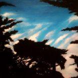 """Dusk Imperator N1"" (Acrylic on canvas, 54x63cm), SOLD"