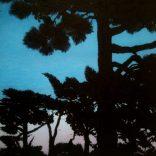 """Dusk Imperator N2"" (Acrylic on canvas, 54x63cm), SOLD"