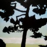 """Dusk Imperator N4"" (Acrylic on canvas, 37X54cm), SOLD"