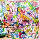 """""""L'ennui est une colère vide"""" (markers on paper, 21X29,7cm), 250 euros"""
